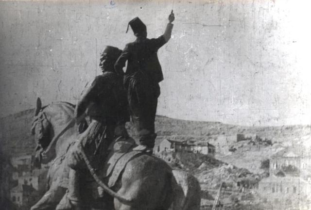 Youssef Bey Karam's statue
